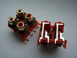 Разьем GOLD DKB1083, AL4977  RCA (тюльпаны) для djm500, 600, 700, 750, 850, 900, 2000, фото 3