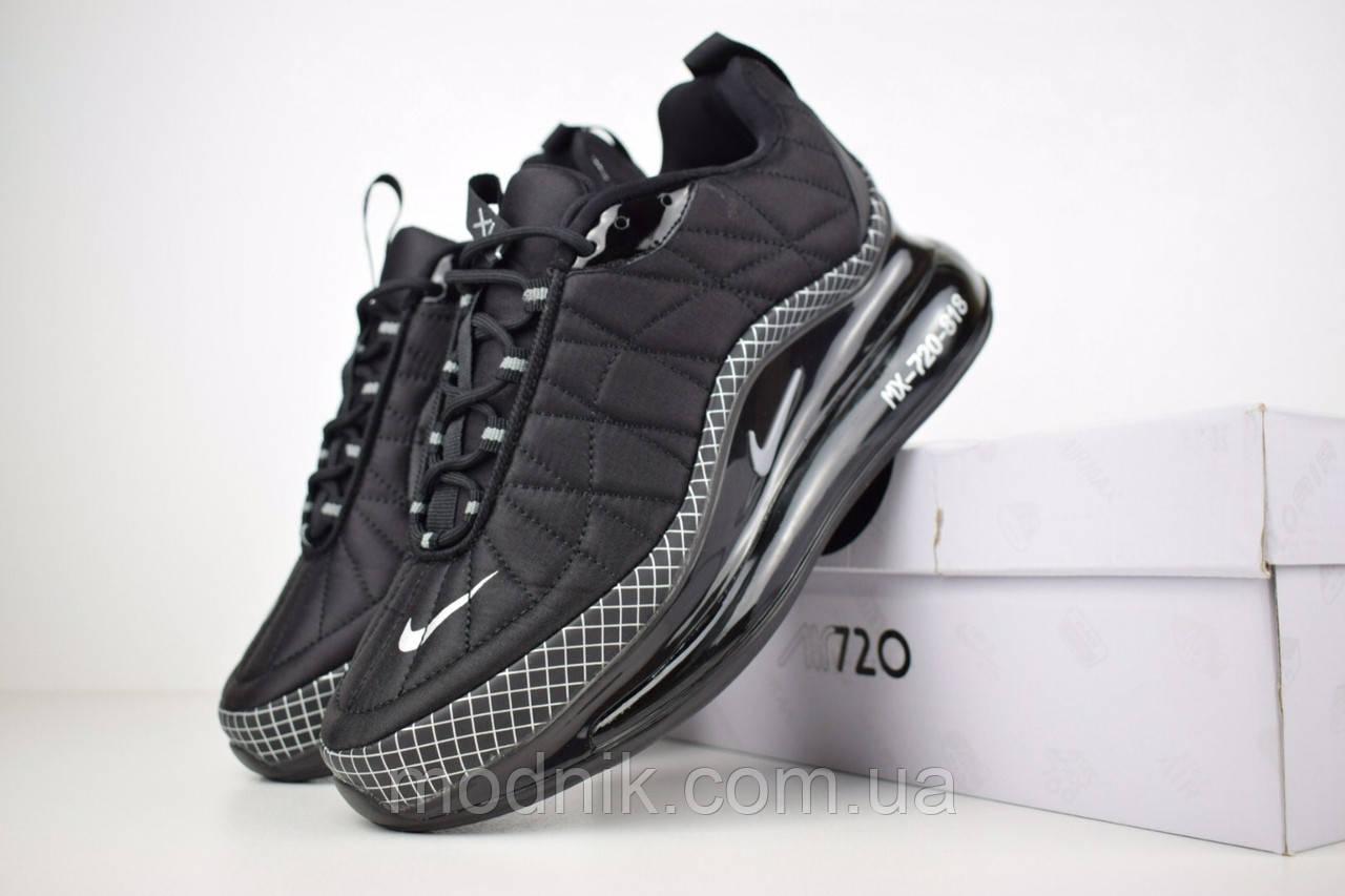 Мужские зимние кроссовки Nike Air MAX 720-818 (черные)