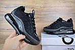 Мужские зимние кроссовки Nike Air MAX 720-818 (черные), фото 6