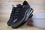 Мужские зимние кроссовки Nike Air MAX 720-818 (черные), фото 9