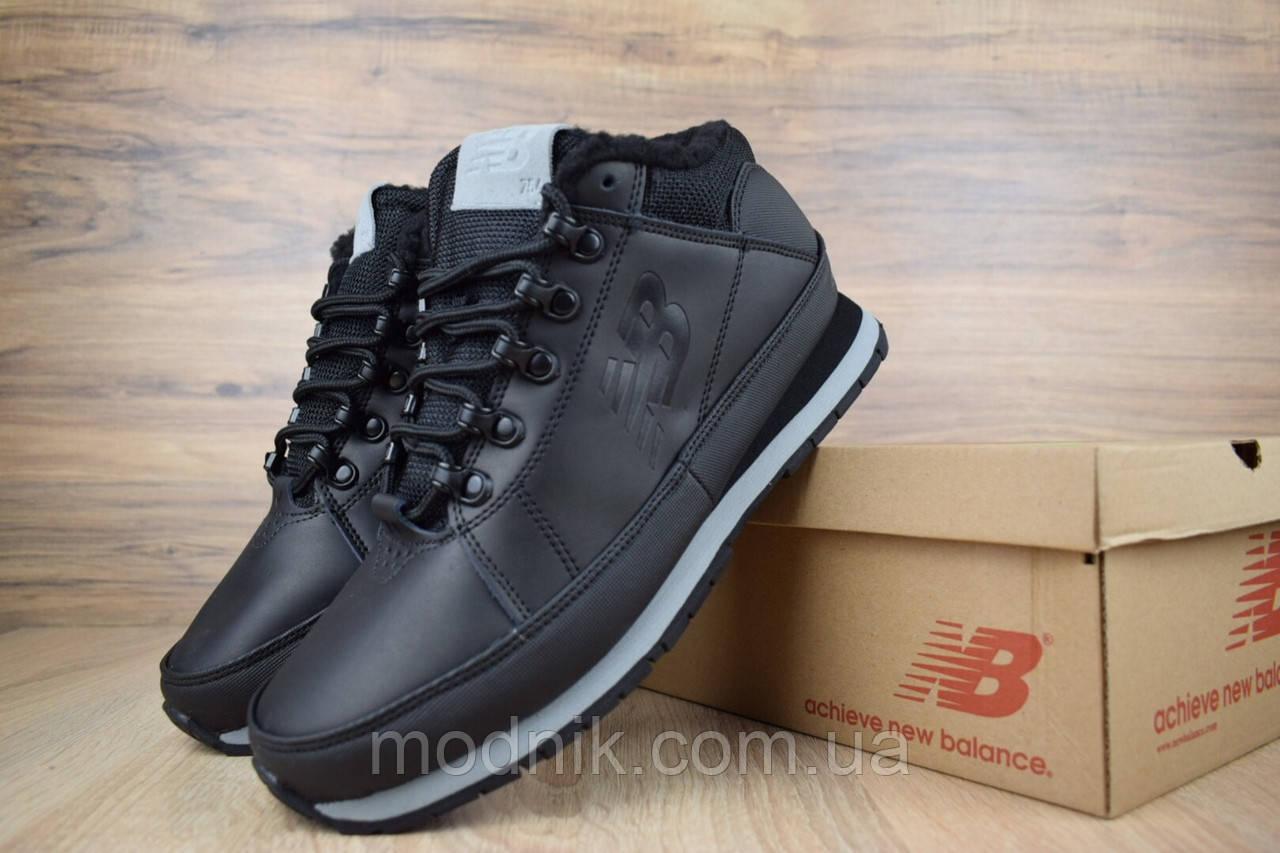 Мужские зимние кроссовки New Balance 754 (черные)