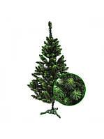 Елка новогодняя зеленая искусственная 2,5 м ПВХ «Сказка»
