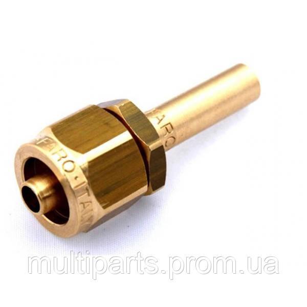 Фитинг к пластиковой трубки Faro D-8mm прямой