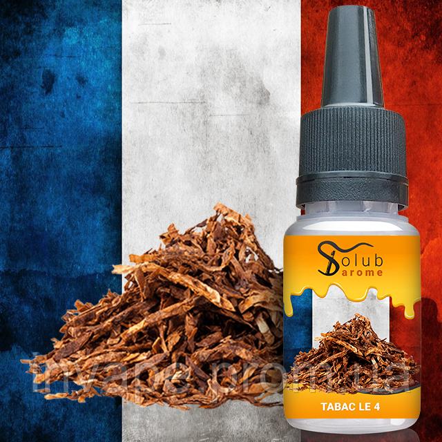 Ароматизатор SolubArome Tabac LE 4 (Французский табак) 5мл