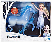 Крижане серце 2 Frozen 2 Ельза і кінь Нокк Disney (Холодное сердце 2 Эльза Модная кукла с лошадкой Нокк E5516)