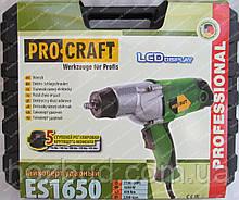 Гайковерт ударный Procraft ES1650 (дисплей)