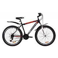 """Велосипед Discovery 26"""" TREK AM V-BR 2020 (сине-оранжевый ) (OPS-DIS-26-286)"""