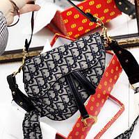 Женская сумка в стиле Dіоr (Диор) кобура, ЛЮКС копия ( код: KB982 )