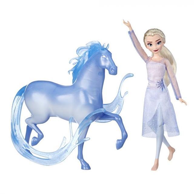 Крижане серце 2 Frozen 2 Ельза і кінь Нокк (Холодное сердце 2 Эльза Модная кукла с лошадкой Нокк E5516)