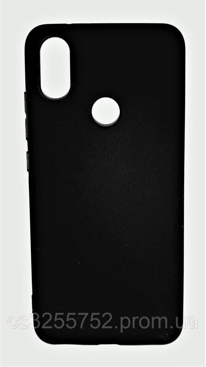 Силикон SMTT для Xiaomi MI 6X MI A2 черный