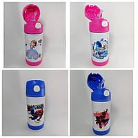 Термос бутылка детская 350 мл в ассортименте.