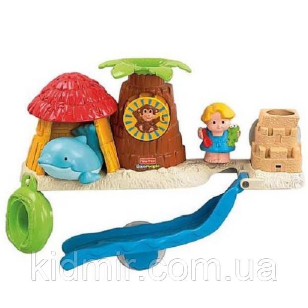 Игрушка для игры с водой Спасательная команда Little People Fisher Price