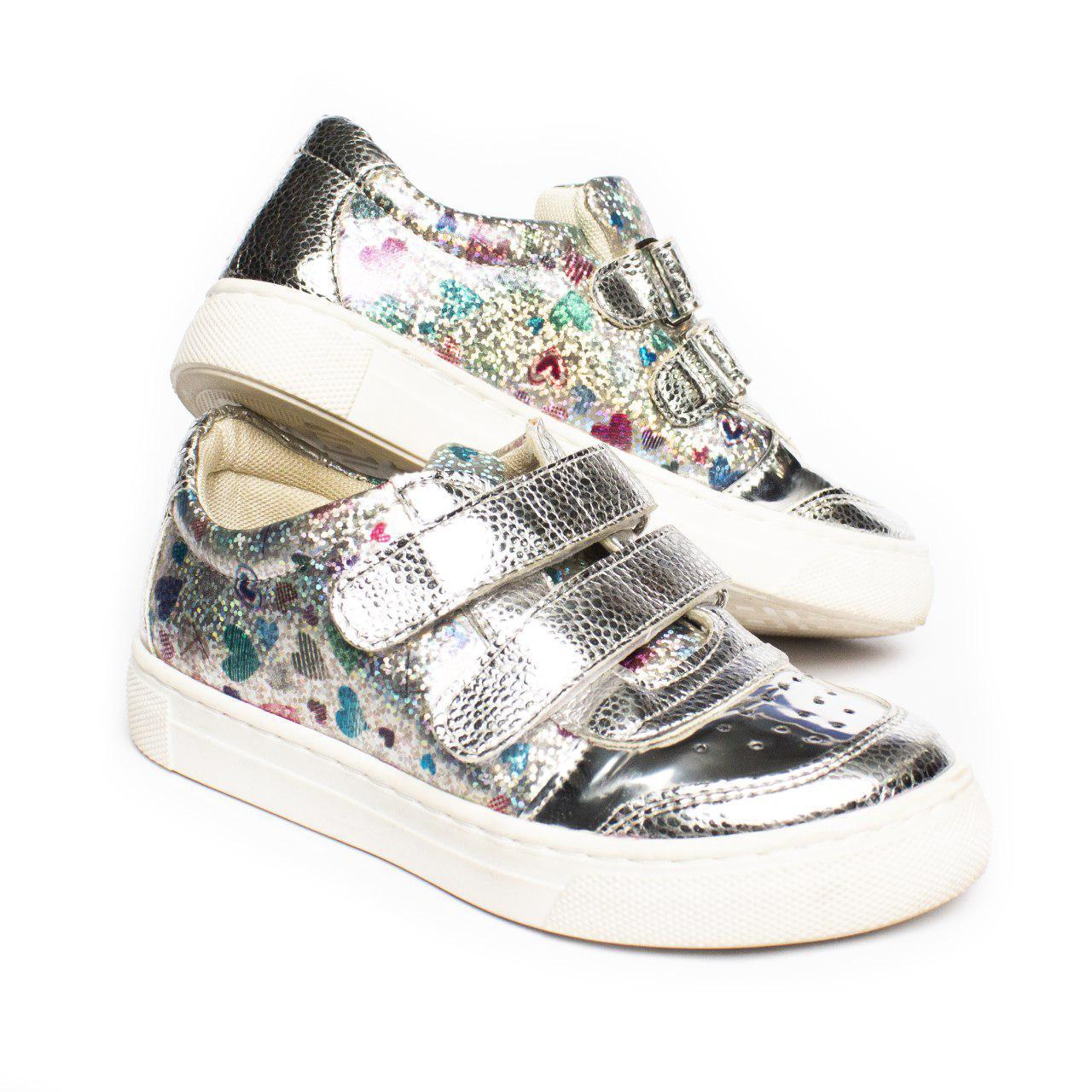 Стильные кроссовки для девочки, размеры 30