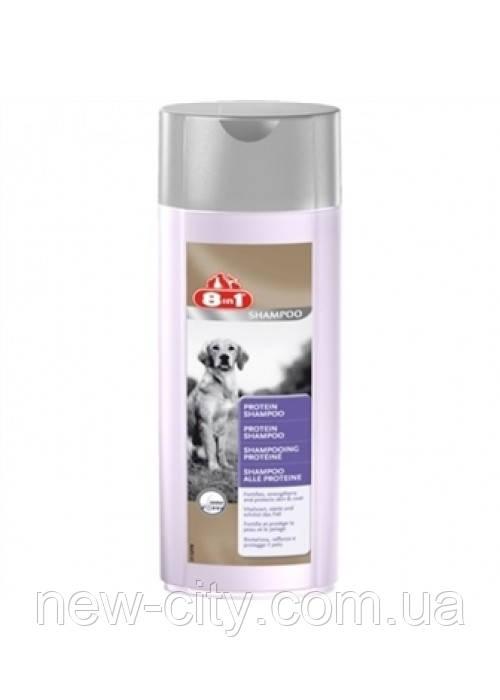 8in1 Tearless Protein Shampoo Шампунь с протеином для собак