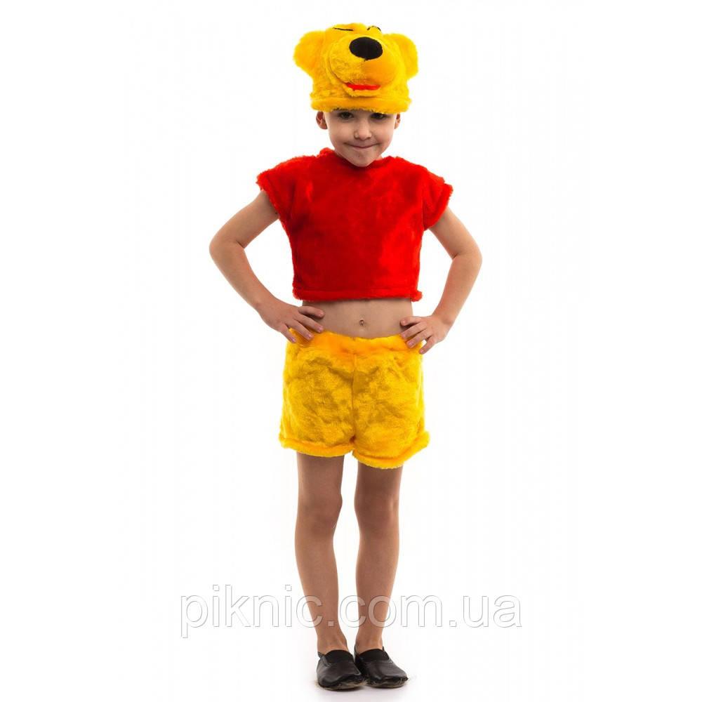 Детский костюм Винни Пух 3-6 лет. Новогодний карнавальный костюм для мальчиков