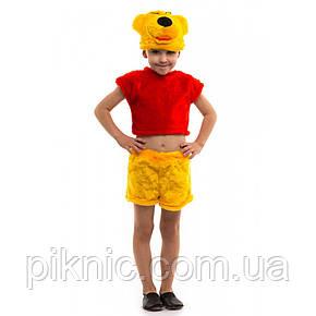 Детский костюм Винни Пух 3-6 лет. Новогодний карнавальный костюм для мальчиков, фото 2