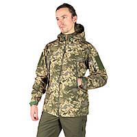 Тактична куртка Softshell піксель ММ14