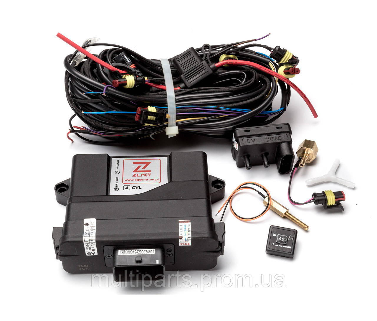 Электроника Zenit PRO на 8 цилиндров