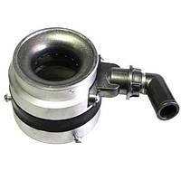 Смеситель газа с антихлопковым клапаном d60 (штуцер входа - уголок)