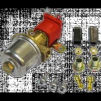 Электромагнитный клапан газа Аtiker малый вх. вых. 6 мм