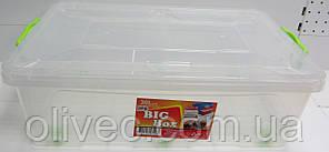 Контейнер для хранения пищи BIG Box 30.0 л. Прямоугольный. Плоский