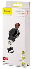 Беспроводной зарядное устройство Baseus Dotter Wireless Charger для Apple iWatch Черный (WXYDIW02-01), фото 2