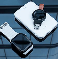 Беспроводной зарядное устройство Baseus Dotter Wireless Charger для Apple iWatch Черный (WXYDIW02-01), фото 3