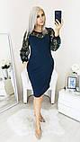 Нарядное женское платье,размеры:48,50,52,54., фото 8