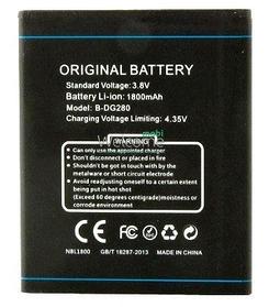 Аккумулятор (Батарея) для Doogee LEO B-DG280 (1800 mAh) Оригинал