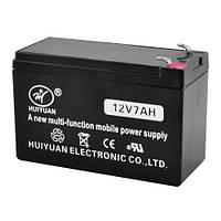Аккумулятор АКБ 12 Вольт 7Ач (12 Вольт, 7AH) Свинцово-кислотный