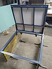 Напольный люк под ламінат 1000*800 мм Вest Lift  / люк в погреб/ люк в подвал, фото 2