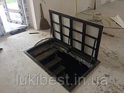 Напольный люк под паркет 900*900 мм Вest Lift  / люк в погреб/ люк в подвал