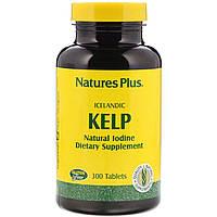 Норвежские бурые водоросли, Nature's Plus, 300 таблеток