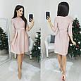 Платье женское модное стильное новогоднее размер 42-46 купить оптом со склада 7км Одесса, фото 4