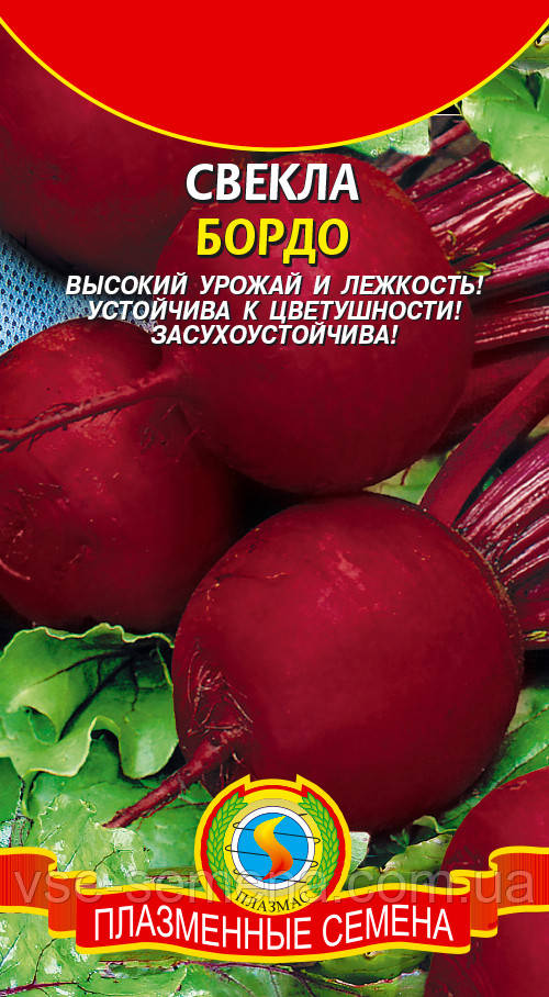 Свекла Бордо 237 3 г б/п (Плазменные семена)