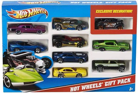 Набор Хот Вилс 9 машинок Hot Wheels Giftcard 9 cars( ассортимент), фото 2