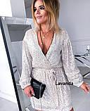 Платье женское  короткое  нарядное, фото 2