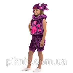 Костюм Лунтика для мальчиков 3,4,5,6 лет. Детский новогодний карнавальный маскарадный костюм Фиолет, фото 2