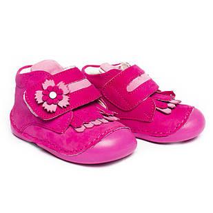 Кожаные ботинки - пинетки для девочки, ортопедические, размеры 19, 20, 21