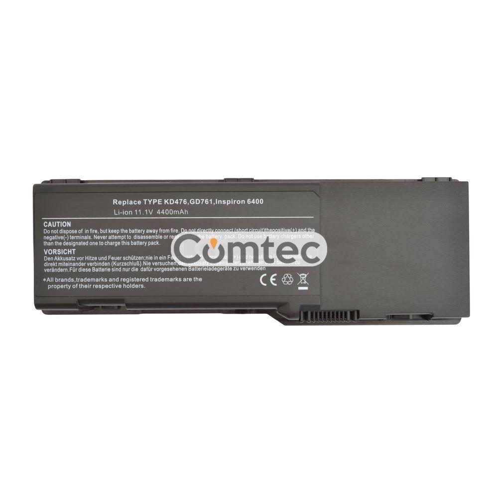 Аккумулятор для ноутбука Dell GD761 Inspiron 6400 11.1V черный 5200 mAh, фото 1