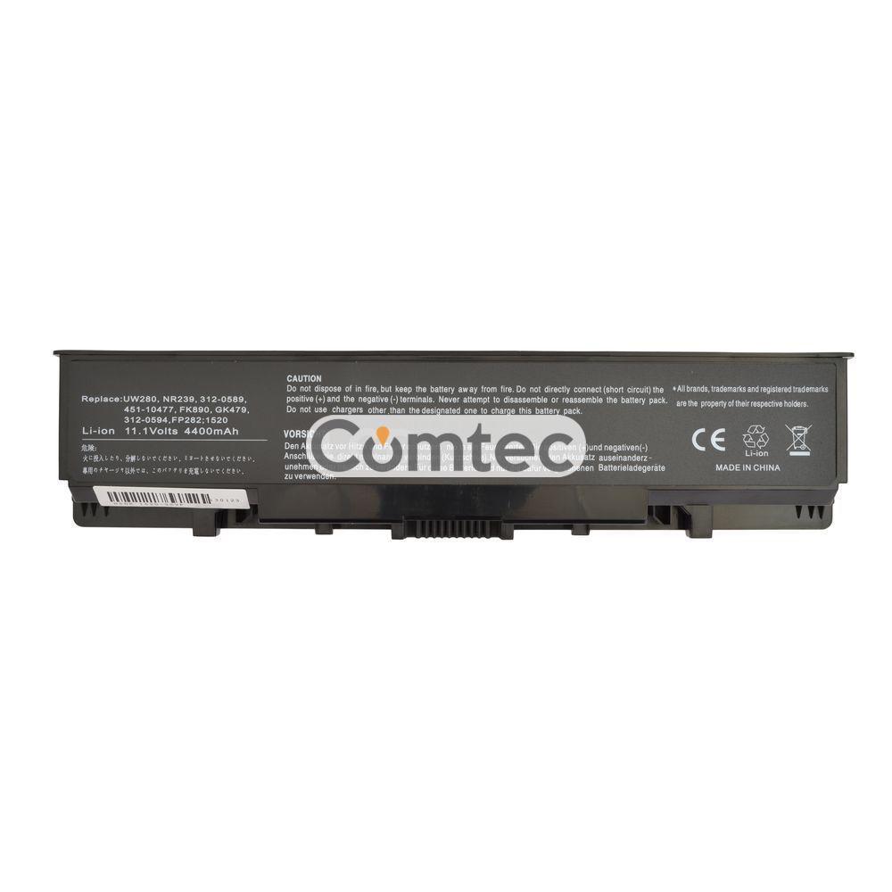 Аккумулятор для ноутбука Dell GK479 Inspiron 1520 11.1V черный 5200 mAh
