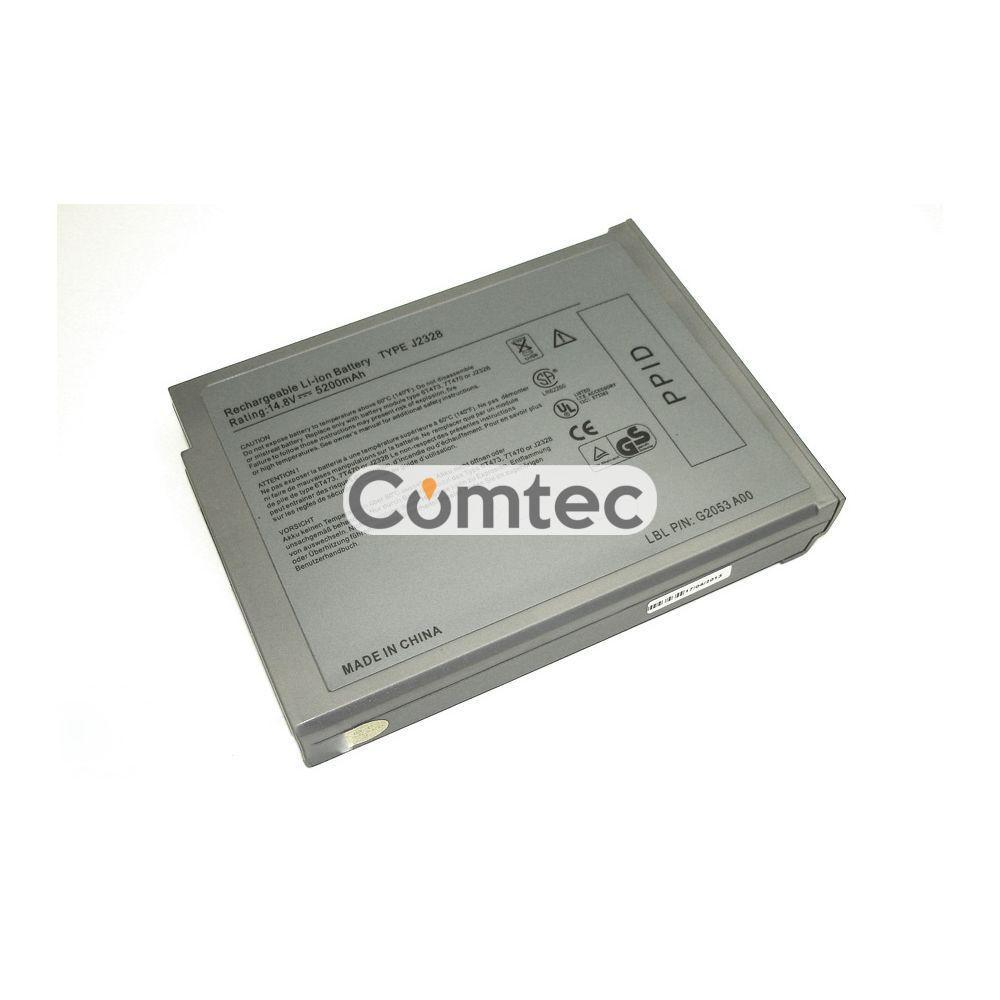 Аккумулятор для ноутбука Dell J2328 Inspiron 1150 14.8V Grey 5200 mAh