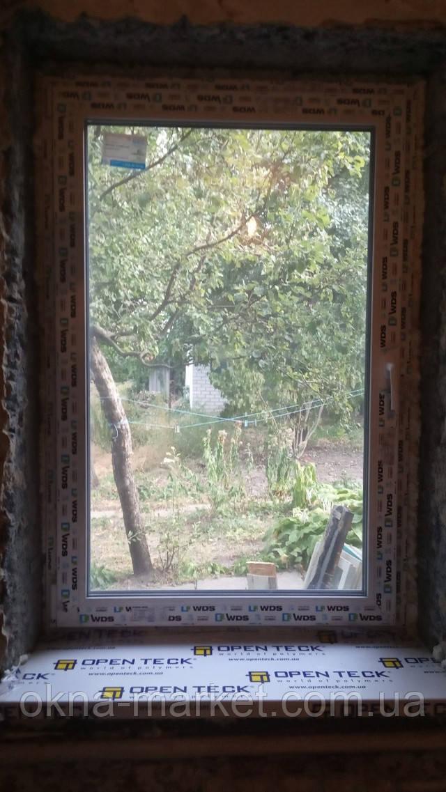 Окно одностворчатое поворотно-откидное ВДС - фото бригады 15
