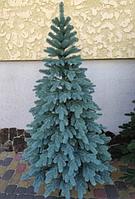 Искусственная елка Литая Элитная голубая 1.80 м., фото 1