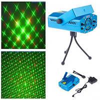 Лазерный проектор Mini Laser Stage Lightning (RD-7197)