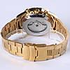 Механические часы с автоподзаводом FORSINING TEXAS (gold-black), фото 4