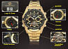 Механические часы с автоподзаводом FORSINING TEXAS (gold-black), фото 9