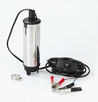 Насос топливоперекачивающий/ занурювальний/ 24 В діаметр 50 мм (Польща) 30 літрів/ хв