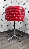 """Детское парикмахерское кресло для стрижки """"Obsession"""" на пневматике хром"""