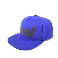 Кепка снепбек синяя премиум HEADWAY® snapback